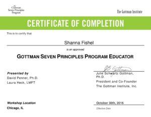Gottman 7 Principles that make Marriage Group - Program Educator - Gottmam Leader
